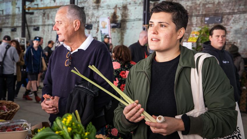 Carriageworks Farmers Market, Sydney Chef, Claire Van Vuuren