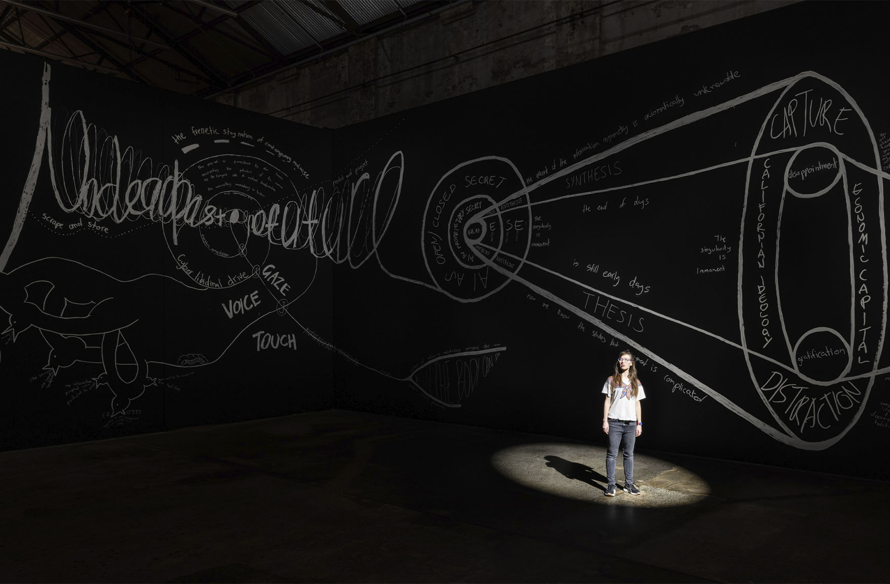 Giselle Stanborough, Cinopticon, Installation, Carriageworks, Australian Art, Contemporary Art