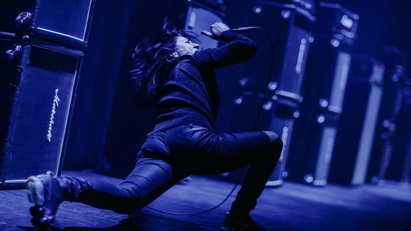 Kusum Normoyle, Open Frame, Vivid Sydney, Carriageworks, 2021, live music, sound artist, experimental music