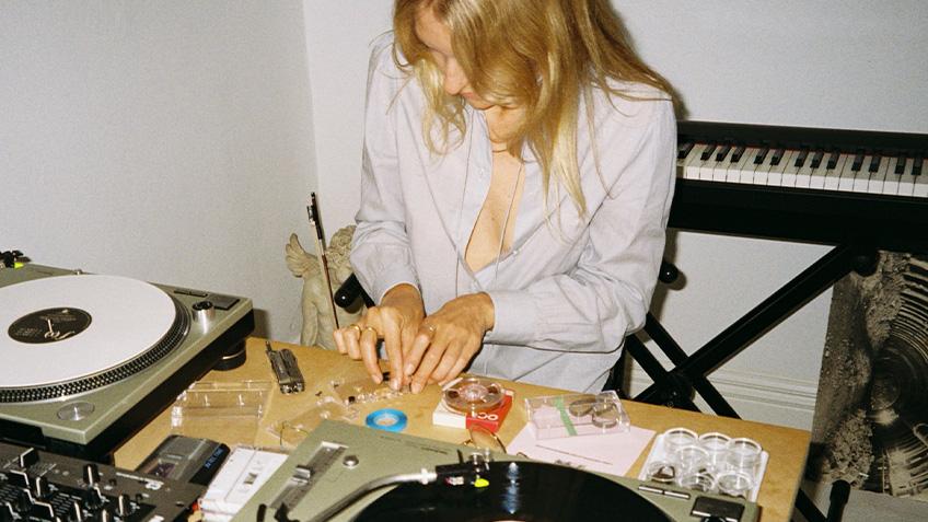 Lisa Lerkenfeldt, Open Frame, Vivid Sydney, Carriageworks, 2021, live music, sound artist, experimental music