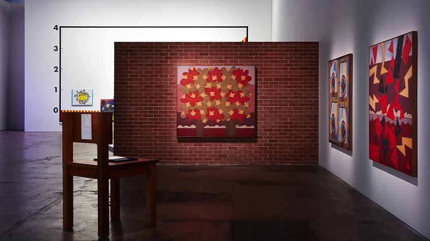 Installing, Installation, Carriageworks, Mitch Cairns, Art, Gallery, Exhibition