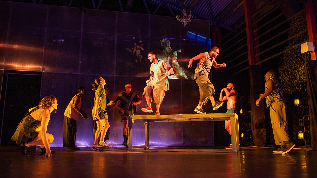 Marrugeku, Jurrungu Ngan-ga, dance, performance, art, contemporary dance