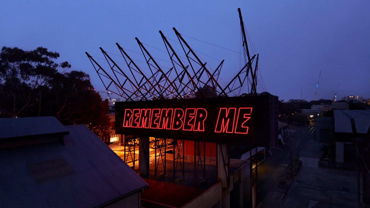 Reko Rennie, REMEMBER ME, 2020, Carriageworks, Australian Art, Installation, Contemporary Art
