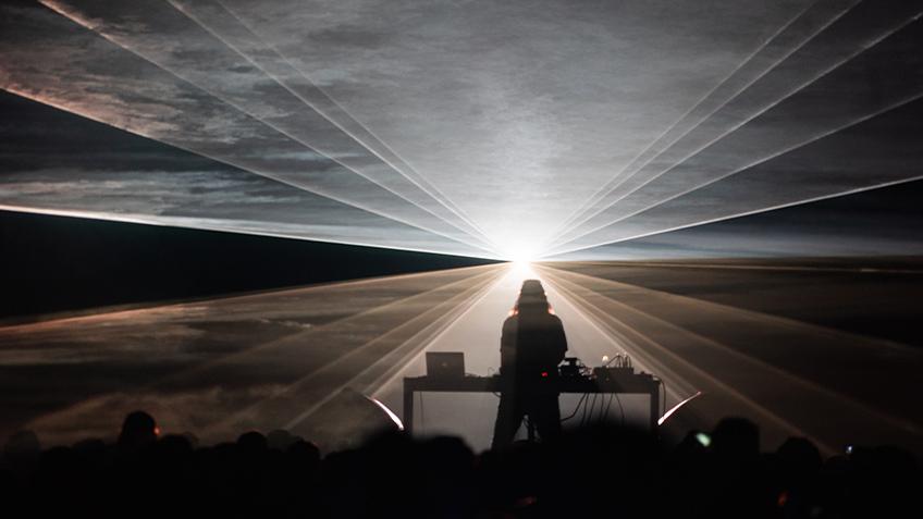 Robin Fox, Open Frame, Vivid Sydney, Carriageworks, 2021, live music, sound artist, experimental music