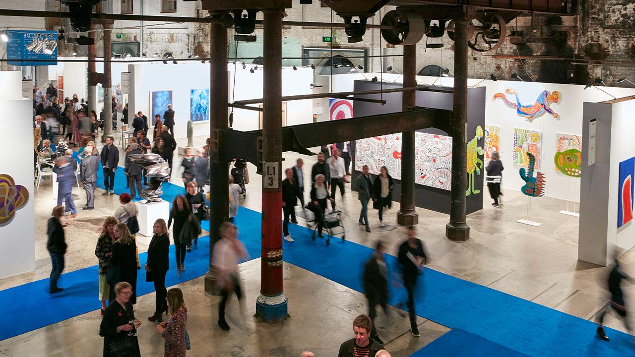 Sydney Contemporary, Art Fair, Carriageworks