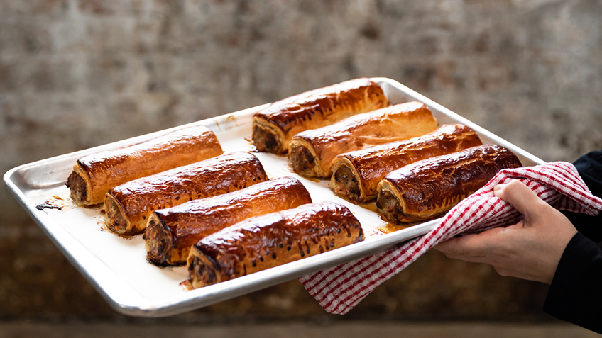 Recipe, Sonoma Baking Company, Pepe Saya, Butter, Pastry, Puff Pastry, Sausage Rolls, Pork, Fresh Ingredients, Carriageworks Farmers Market