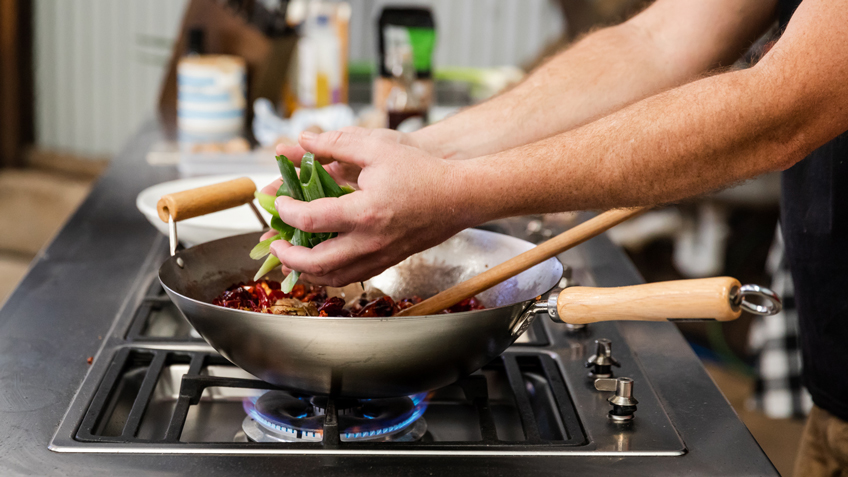 Recipe, Kung Pao Chicken, Carriageworks Farmers Market, Spice Temple, Andy Evans