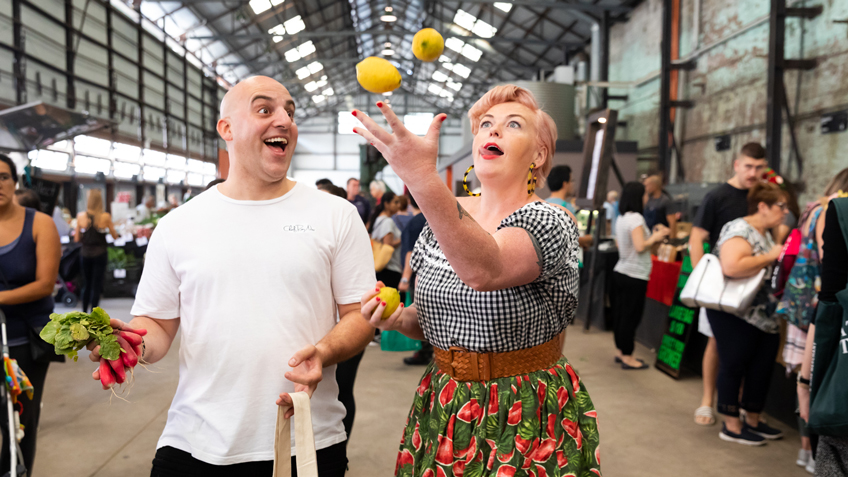 Roy Ner, Carriageworks Farmers Market, Free Recipe, Free Demo, Sydney Food Events
