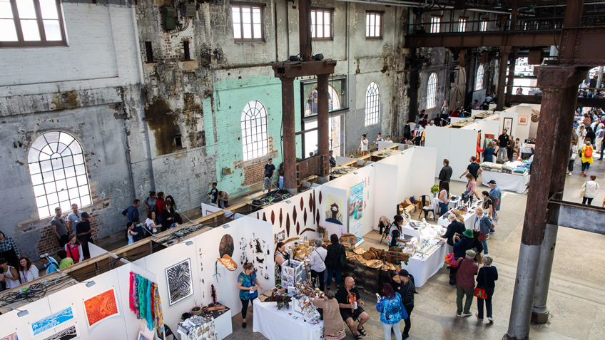 Southeast Aboriginal Arts Market, Carriageworks, Market, Free events