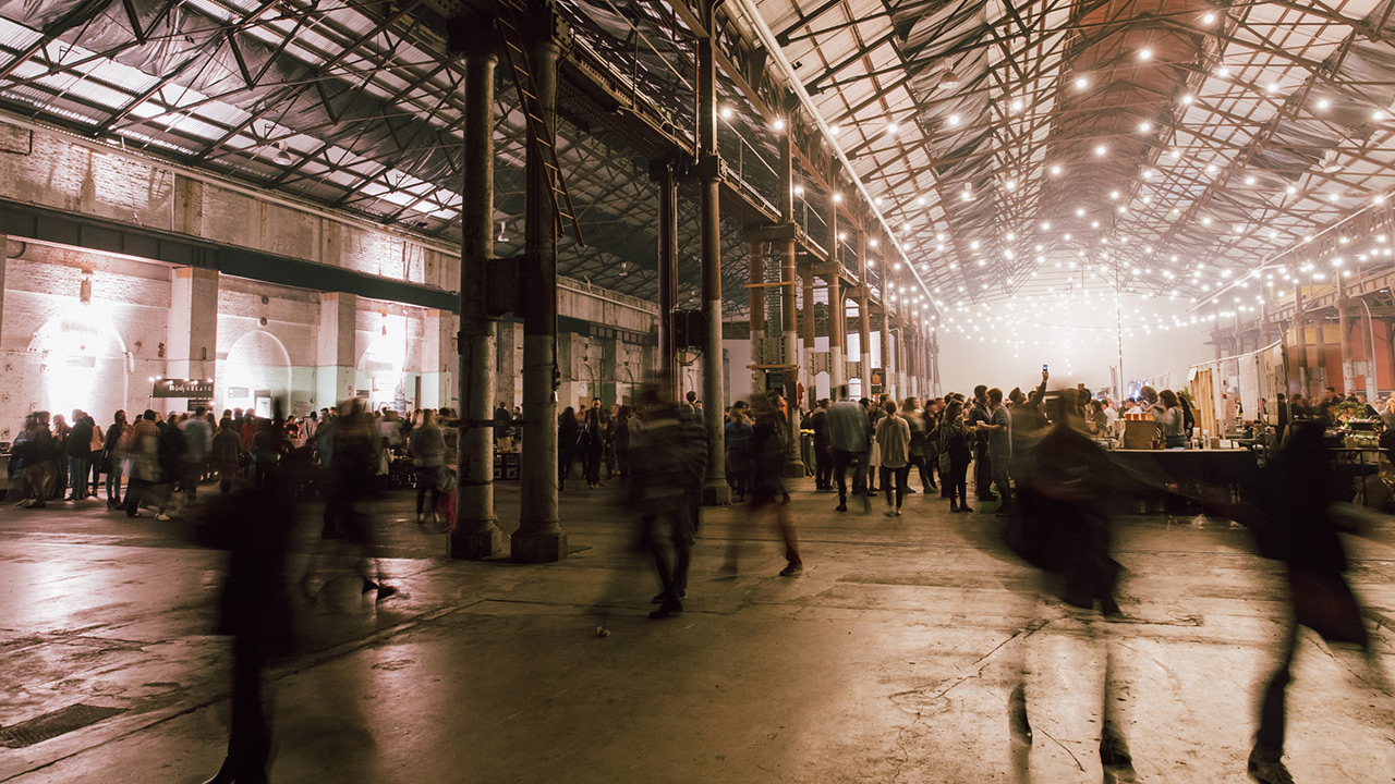 Winter Night Market, Carriageworks, Food Events, Markets